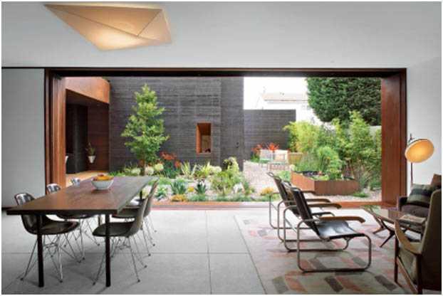 Bungalow garden room